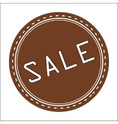 Sale Icon Badge Label or Sticke vector image