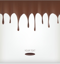 Chocolate streams vector