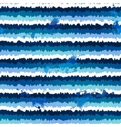 Dark blue grunge paint stripes seamless pattern vector