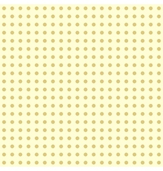 Seamless modern dotted pattern vector