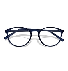 dark blue glasses vector image