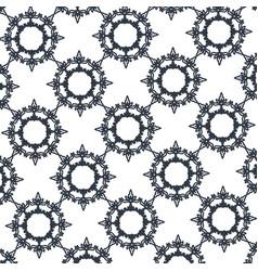 flourishes decoration frame crown image vector image