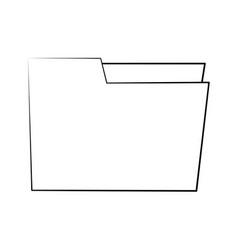 folder business document vector image vector image