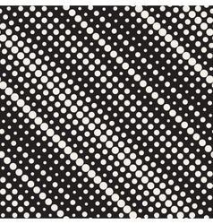 Seamless diagonal halftone circle lines vector