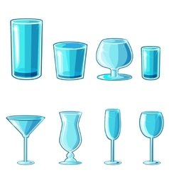 Shaped wineglass game element vector