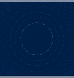 Abstract circles and dots modern vector