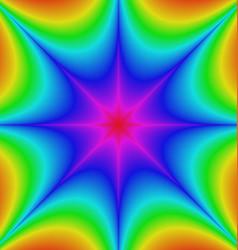 Abstract gradient star burst background design vector