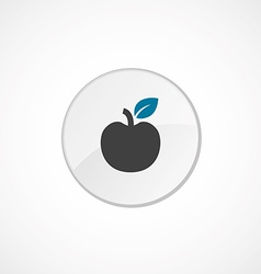 apple icon 2 colored vector image vector image