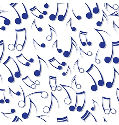 Music note sound texture vector image