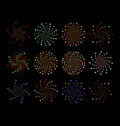 star clusters vector image vector image