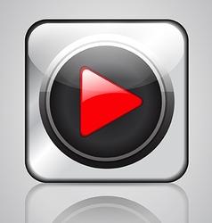 app media player vector image