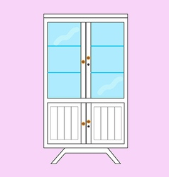 wardrobe vector image