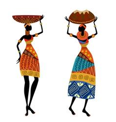 Ethnic woman vector