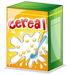 A cereal vector image vector image
