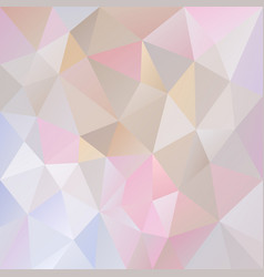 Abstract polygon background pastel colored vector