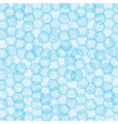 Blue swirl circle background vector