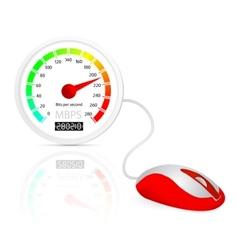 Internet speed concept vector