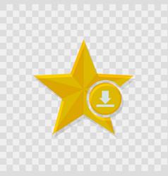 Star icon download icon vector