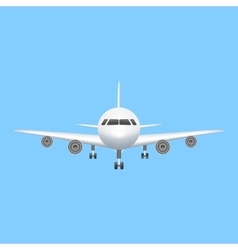 Airplane icon aviation vector