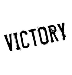 Victory rubber stamp vector
