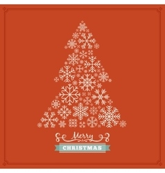 Christmas decorating design made of vector