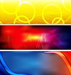Abstract background banner02 vector image vector image