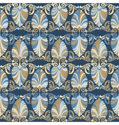 Seamless greek Art Nouveau pattern vector image vector image