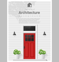 Elements of architecture front door background 4 vector