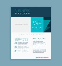 Brand identity brochure template vector