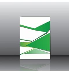 Business leterhead template vector image