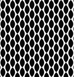 Black and white vertical curved shape pattern vector