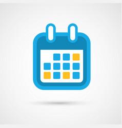 Calendar icon - month vector