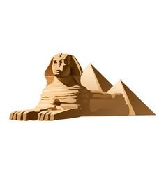 Egyptian sphinx vector