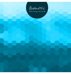 Geometric gradient background vector