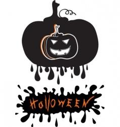 Halloween graphic vector image