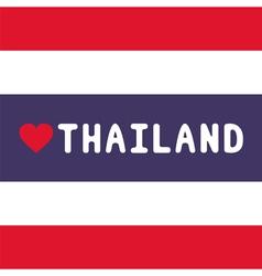 I love thailand18 vector