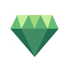 Polygonal icon with geometrical figures vector