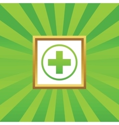 Medical sign picture icon 2 vector