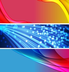 Abstract background banner04 vector image