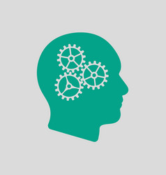 Brainstorm icon vector