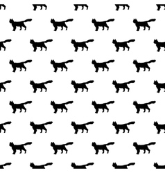 Cat pattern seamless vector