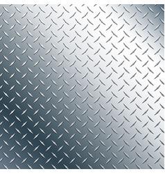 Chrome diamond plate vector