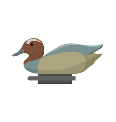 duck decoy for hunt vector image