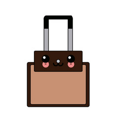 Kawaii case business accessory handle vector