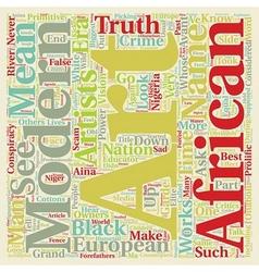 Modern art a conspiracy part text background vector
