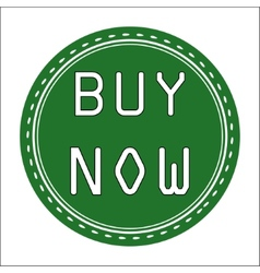 Buy now icon badge label or sticke vector