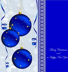 ny gray blue vector image