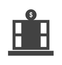 Financial office vector