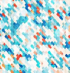 Blue cells seamless vector