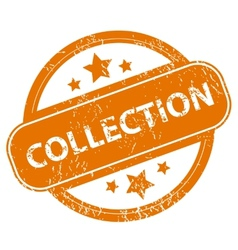 Collection grunge icon vector image